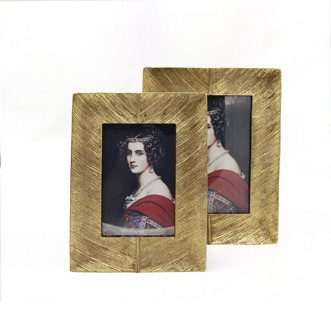 Feather Photo Frame-Small Insel