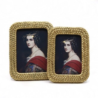 Braided Photo Frame-Small Insel