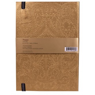 PASEO GOLD A5 NOTEBOOK Insel