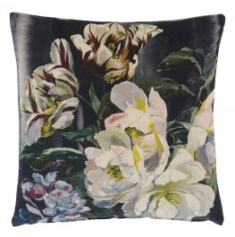 DELFT FLOWER NOIR CUSHION