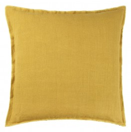 BRERA LINO OCHRE CUSHION