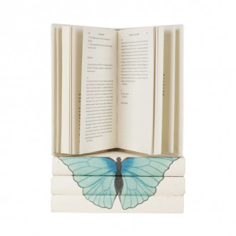 Blue butterfly - Summer Azure - 4 vol. stack Insel