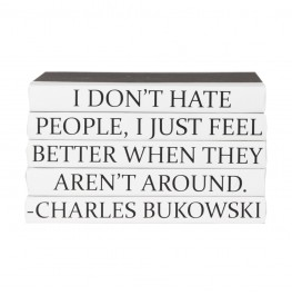 "Charles Bukowski - ""I don't hate people..."" - 5 Vol."