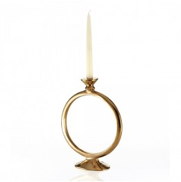 O Candleholder Gold-Large