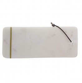 Cutting Board Marble White