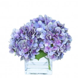 Hydrangea Arrangement-Small Purple