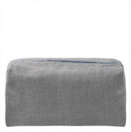 BRERA LINO PEWTER LARGE WASHBAG