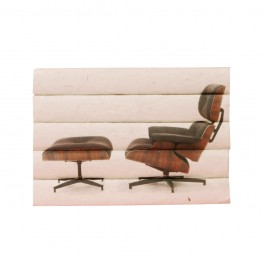 Eames Lounge 5 volume Stack