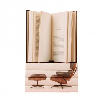Eames Lounge 5 volume Stack Insel