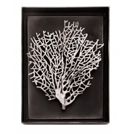 FAN CORAL SHADOW BOX ANTIQUE NICKEL