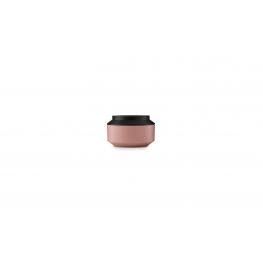 Geo Jar w. Lid Ø15 Blush/Black