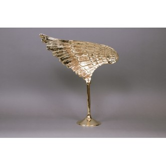 Wing Sculpture Gold- Left Insel