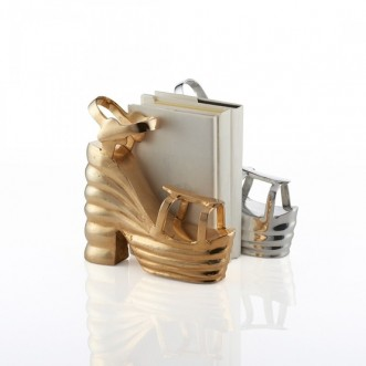 Carmen Shoe / Bookend- Gold Insel