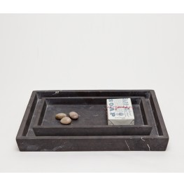 Luxor Tray Set- Black Matte