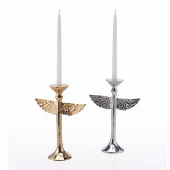 Wing Candleholder Large-Gold Insel