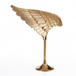 Wing Sculpture Gold- Left
