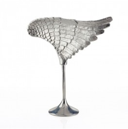 Wing Sculpture Silver- Right