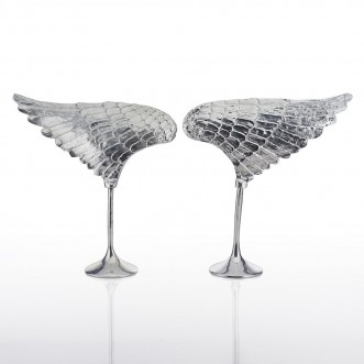 Wing Sculpture Silver- Right Insel