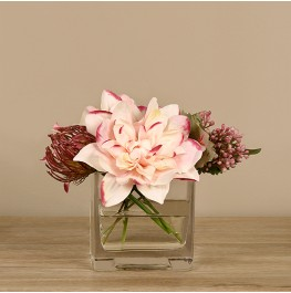 Dahlia & Protea Arrangement- Small