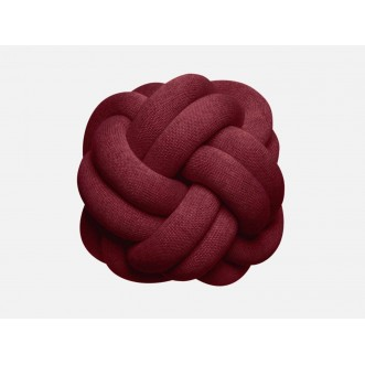 KNOT CUSHION- BORDEAUX Insel