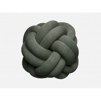KNOT CUSHION- FOREST GREEN Insel