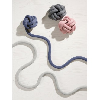 KNOT CUSHION- NAVY Insel