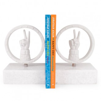 PEACE BOOKEND SET Insel