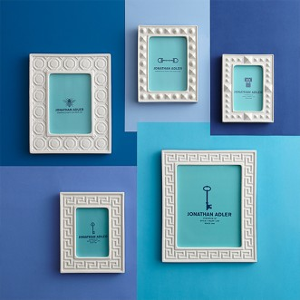 "CHARADE GREEK KEY FRAME 8"" X 10"" Insel"