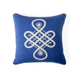 MAXIME EMBLEM PILLOW
