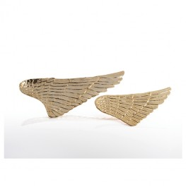 Wing Platter Gold-Small