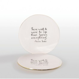 PLATTER WITH MAURICE SENDAK QUOTE