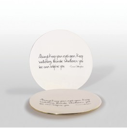 PLATTER WITH GRACE CODDINGTON QUOTE