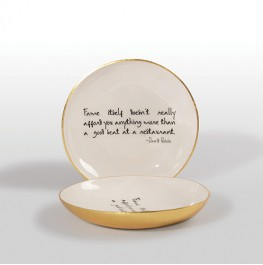 BOWL WITH DAVID BOWIE QUOTE
