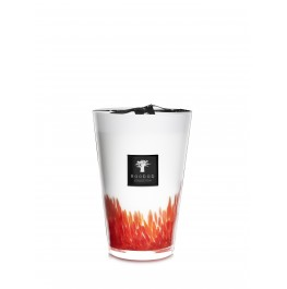 FEATHERS MAASAI CANDLE- 35 CM