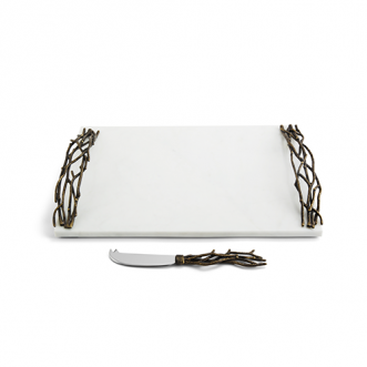Twig Large Cheese Board w/ Knife Insel